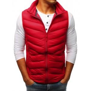 Pánská vesta červená