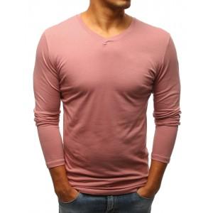 Růžové tričko pánské