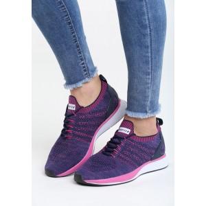 Sportovní obuv fialové barvy pro dámy