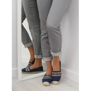 VELIKOST 38 Letní boty modré barvy semišové