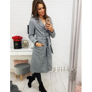 Dlouhý dámský kabát