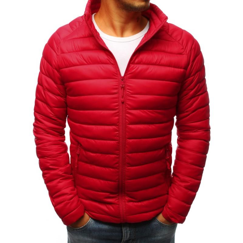 65625fcad9 Pánské stylové bundy na podzim červené