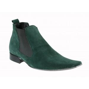 Pánské kotníkové boty zelené