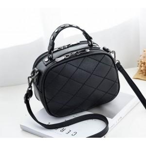Crossbody kabelky černá pro dámy přes rameno