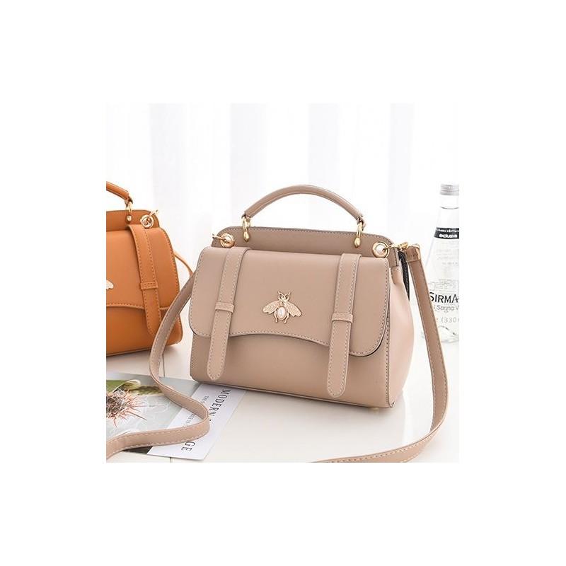 Dámské kabelky crossbody v krémové barvě 8b50a0334dd