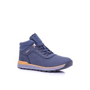 Zimní pánské boty modré