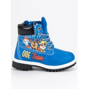 Dětské boty na zimu s motivem pohádky tlapková patrola