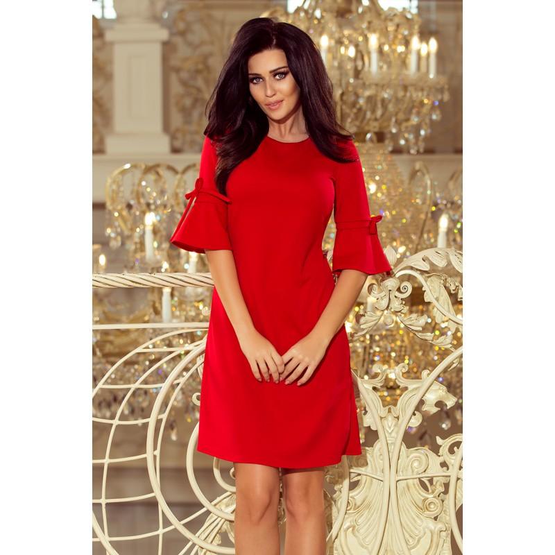 Červené společenské šaty na ples f9651c985b
