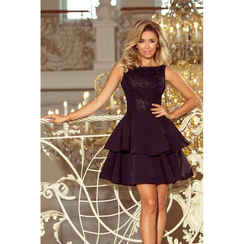 4c2869ef065b Krátké černé plesové šaty