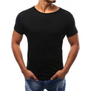 Pánské triko s krátkým rukávem černé barvy