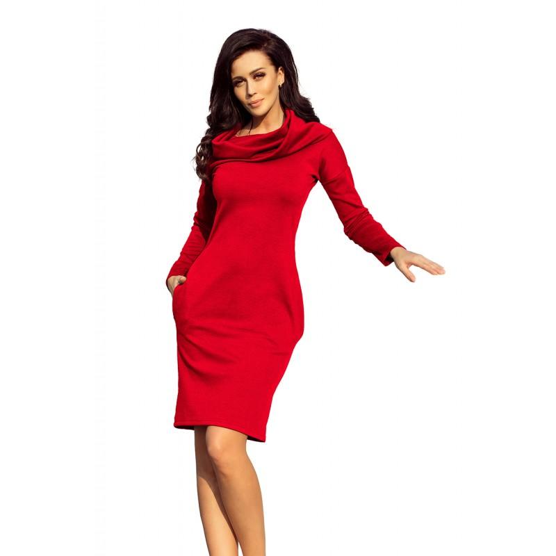b4fcbfc90 Červené dámské šaty na ples